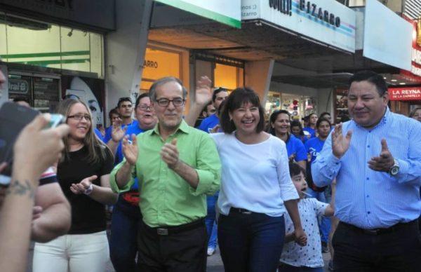 """Carlos Martínez en el cierre de campaña: """"Consenso Federal es la opción distinta"""""""