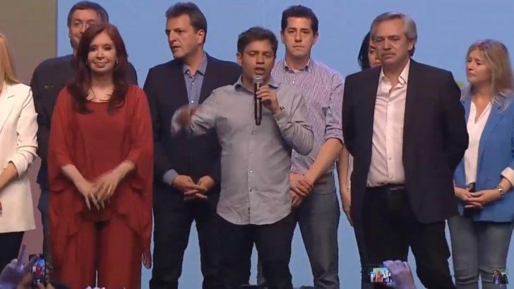 """Como gobernador electo de Buenos Aires, Kicillof anunció una «etapa de reconstrucción"""""""