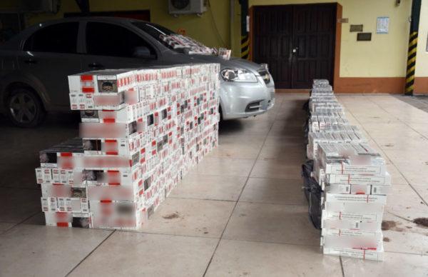 Contrabando: Gendarmería incautó más de 44 mil atados de cigarrillos 1