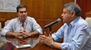 """Cristian Ocampo: """"Vamos a trabajar para una transición como corresponde"""""""