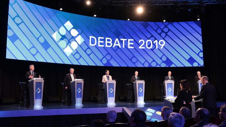 Debate presidencial: Macri se mostró más agresivo y Fernández confiado