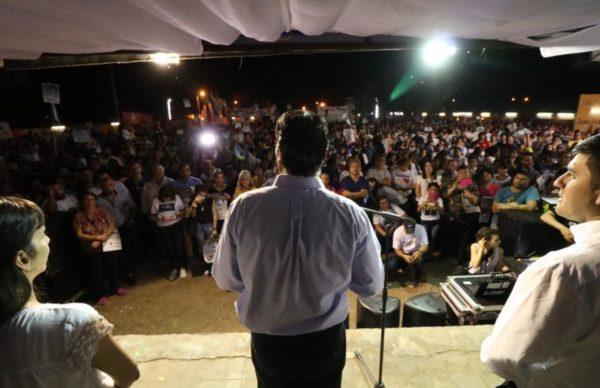 El Frente Chaqueño cerró campaña en Charata y Pinedo 1