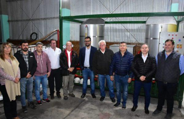 En Gancedo, se inauguró la primera planta municipal de biodiesel de Chaco 1