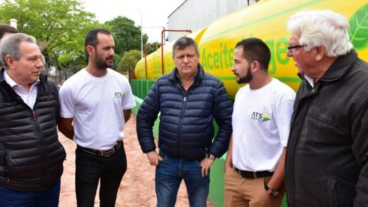 En Gancedo, se inauguró la primera planta municipal de biodiesel de Chaco