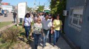 Gustavo Martínez acompañó a Marita Fonseca en una caminata de cierre de campaña por Barranqueras