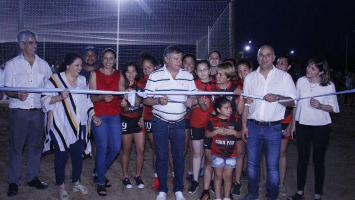Inauguraron obras para La Eduvigis y Selvas de Río de Oro