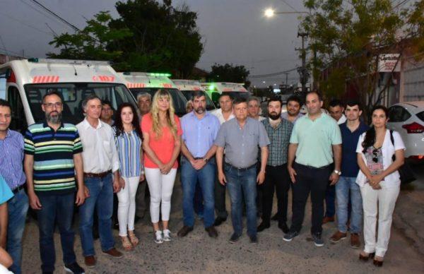 Peppo entregó cinco nuevas ambulancias para fortalecer el sistema sanitario provincial 1