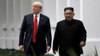 Corea del Norte apura a Trump lanzando dos misiles