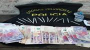 Secuestraron drogas y dinero en Quitilipi