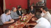 Capitanich se reunió con el presidente de la cadena de Hoteles Amérian