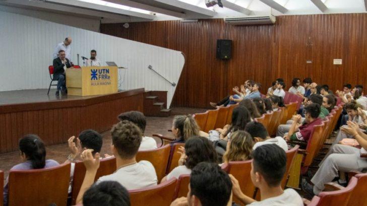 """Charla """"No al derroche"""" en la UTN para alumnos secundarios"""