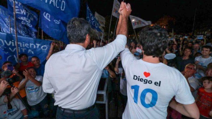 Coqui y Diego Arévalo cierran la campaña del Frente Chaqueño