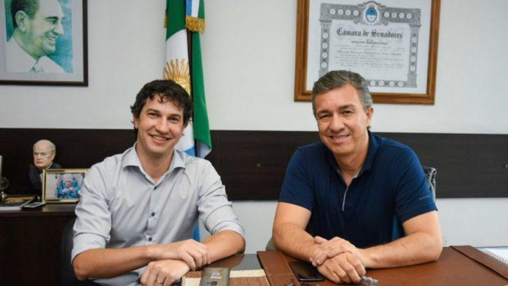 """Eduardo Aguilar: """"Diego es una renovación de primer nivel para la política chaqueña"""""""