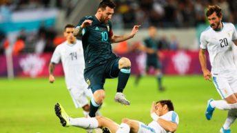La Selección Argentina logró un merecido empate ante Uruguay