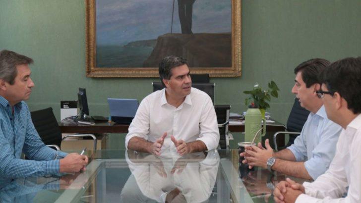 """Martínez respecto de la reunión con Capitanich """"trabajaremos por el vecino de Resistencia"""""""
