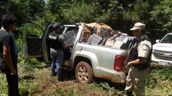 Narcotráfico: secuestraron más de 2.250 kilos de marihuana en Misiones