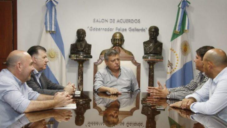 Peppo recibió a los intendentes electos de Quitilipi y Makallé