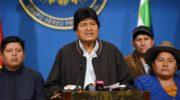 Repudio al golpe de Estado en Bolivia