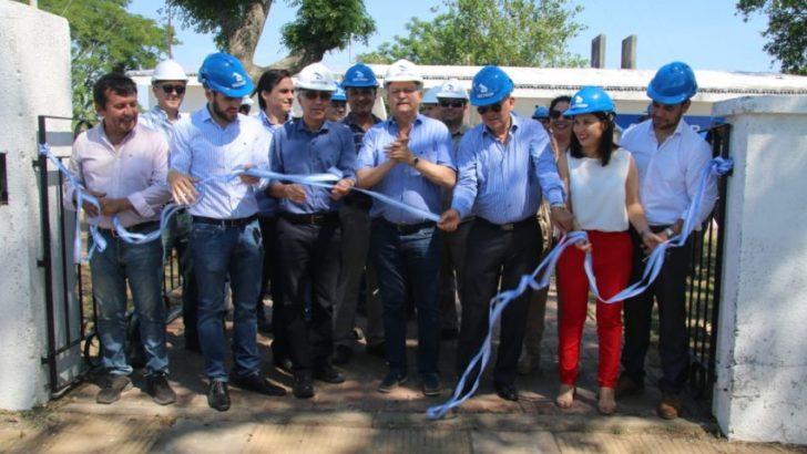 Se inauguraron obras en la estación transformadora Puente Libertad