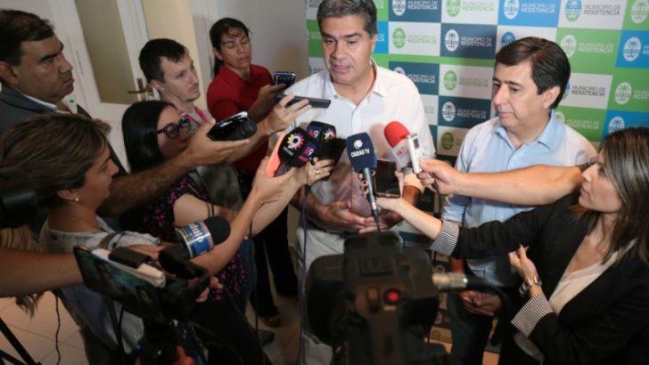Vuelta de página: Capitanich y Martínez dieron el puntapié inicial al proceso de transición