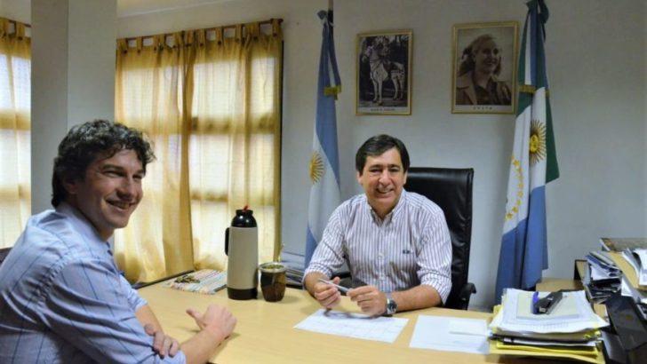 Vuelta de página: Gustavo Martínez y Diego Arévalo se reunieron tras las elecciones