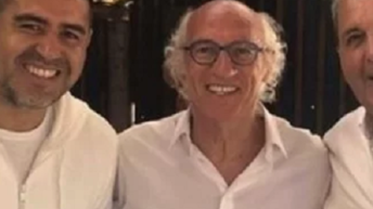 Boca: Riquelme se reencuentra con Bianchi por primera vez como dirigente