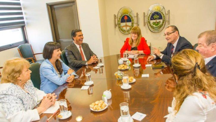 Capitanich y miembros del STJ analizaron amplia agenda de trabajo