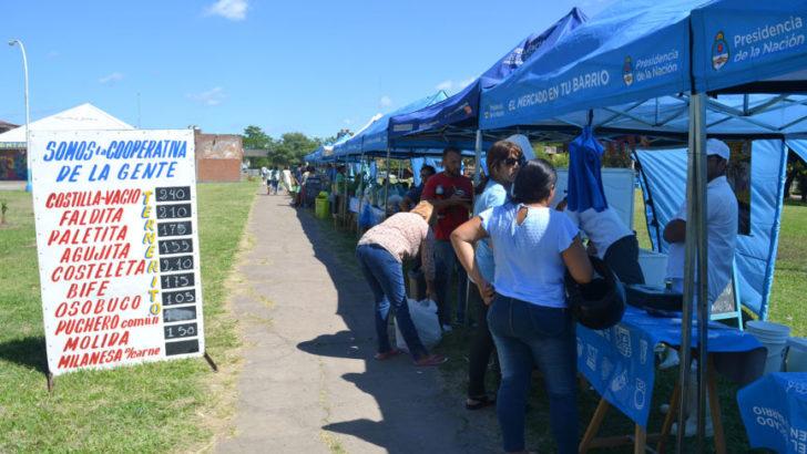 El Mercado en tu Barrio visitó el Ítalo Argentino