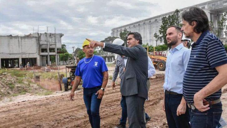 Segundo acueducto: Capitanich recorrió la obra y afirmó que «el acceso al agua potable es una prioridad»