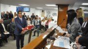 Capitanich y Rach Quiroga juraron en la Legislatura
