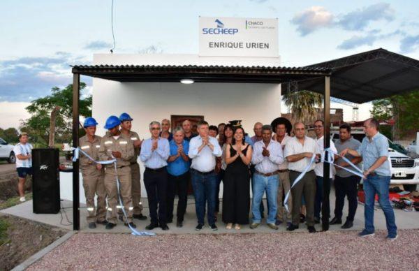 Enrique Urien: el Gobierno inauguró una oficina de Secheep 1