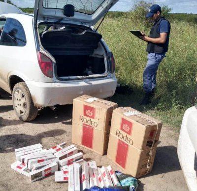 Puerto Bermejo: llevaban más de cien cajas de cigarrillos de contrabando 1