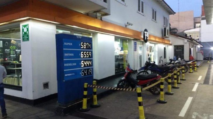 Rige un 6% de aumento en los combustibles y el litro de súper roza los 60 pesos
