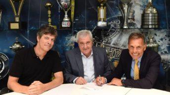 Russo, volvió a Boca: «Ojalá me toque ganar la Copa y festejar en La Bombonera»