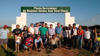 Se inauguró la nueva planta de residuos sólidos urbanos de Avia Terai