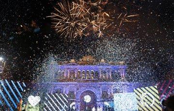Volvió la alegría popular a Plaza de Mayo