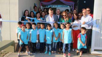 Villa Ángela: Peppo inauguró el nuevo Jardín de Infantes N° 73