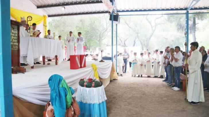 """Virgen de La Laguna: """"vine a agradecer por el camino realizado y a pedir por todos los chaqueños"""""""
