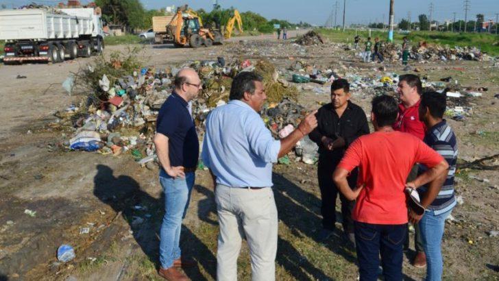Erradican minibasural de zona sur y solicitan colaboración vecinal para que no arrojen residuos