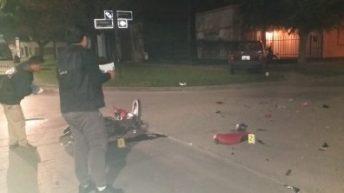 Campo Largo: motociclista falleció tras chocar con un camión