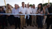 Capitanich inauguró cuadras de pavimento en Villa Ángela