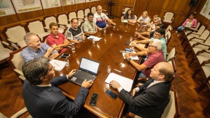 Capitanich recibió a dirigentes de los gremios nucleados en la CTA Autónoma