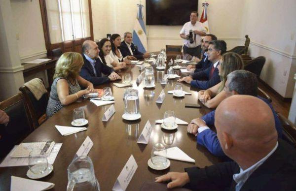 Capitanich y Perotti buscan reactivar el proyecto para insertar a Chaco en la Hidrovía Paraná-Paraguay 1