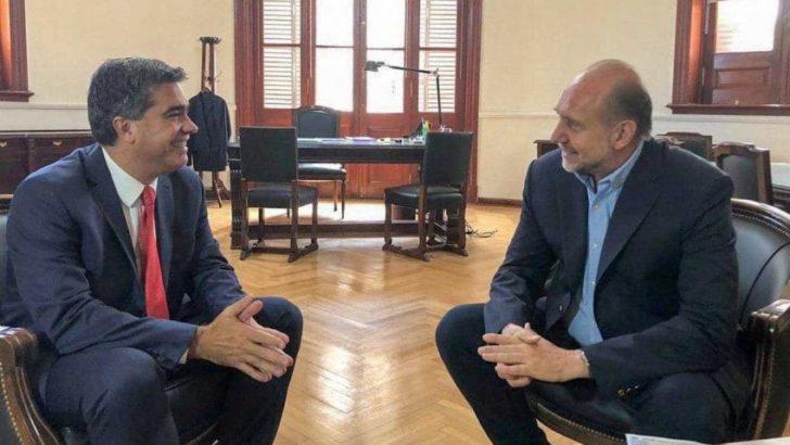 Capitanich y Perotti buscan reactivar el proyecto para insertar a Chaco en la Hidrovía Paraná-Paraguay