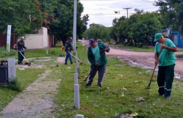 Continúan con los operativos de limpieza y saneamiento para mejorar las condiciones de la ciudad 1