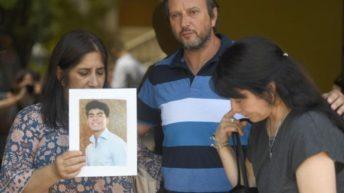Despidieron los restos del joven asesinado a golpes en Villa Gesell