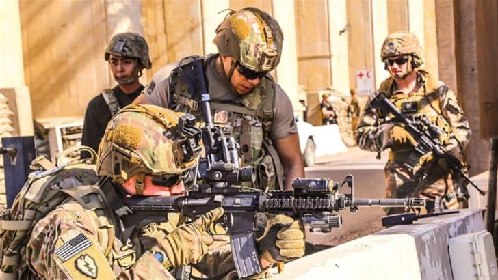 EE. UU. no tiene planes de abandonar Irak, según el jefe de Defensa de Trump