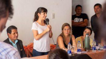 """El Impenetrable: """"estas acciones son el camino para poner a Chaco de pie"""", dijo Analía Rach Quiroga"""
