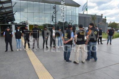 Importante operativo antidrogas en la terminal de ómnibus para combatir el narcomenudeo
