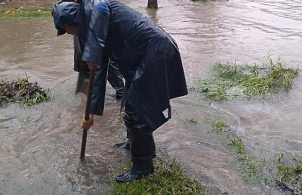 Intenso operativo municipal de saneamiento hídrico, limpieza y atención civil ante las lluvias 3